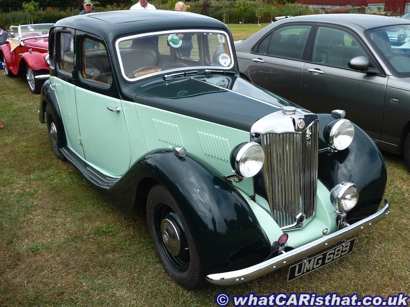 1950s MG Y-TYPE YB Saloon