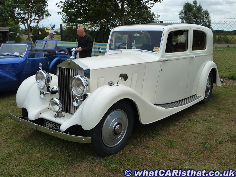 Rolls Royce 1936-39 ?? 25/30 ?? Sports Saloon, Body Hooper ??