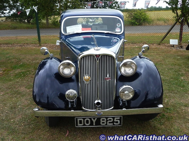 1938 Rover P2 12hp Sports Saloon