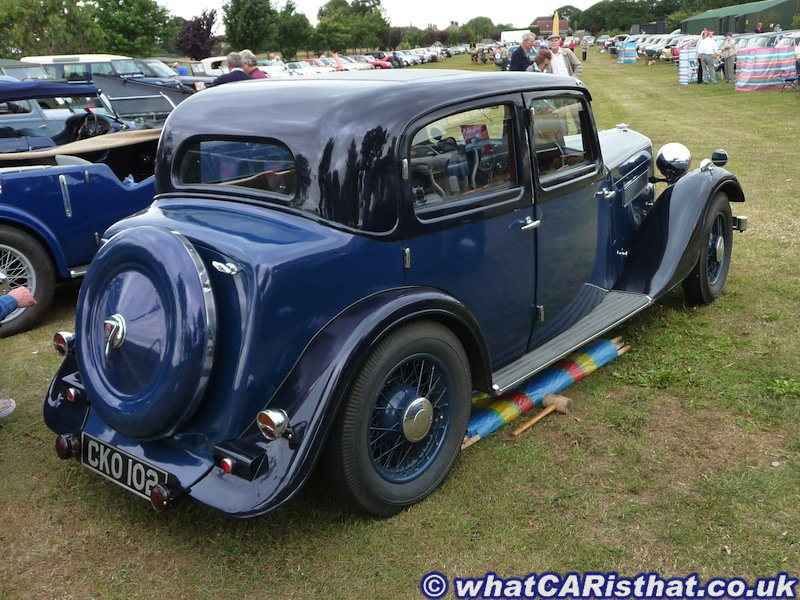 1936 Rover P2 14hp Sports Saloon