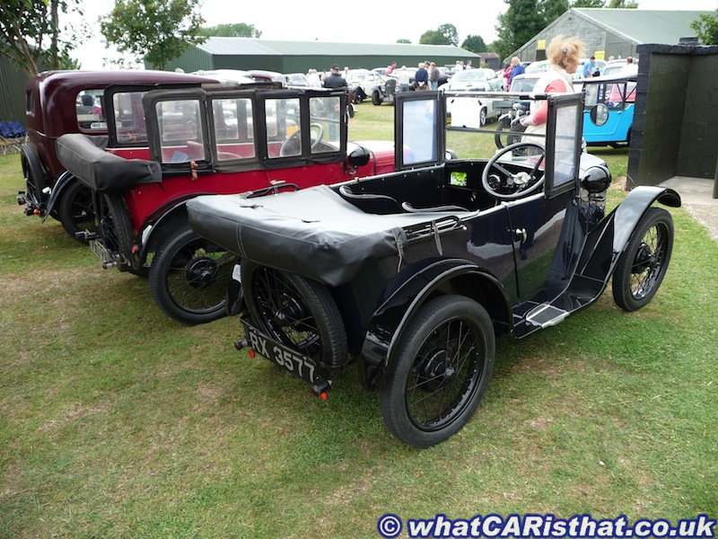 1927 and 1928 Austin 7 Chummy Tourers