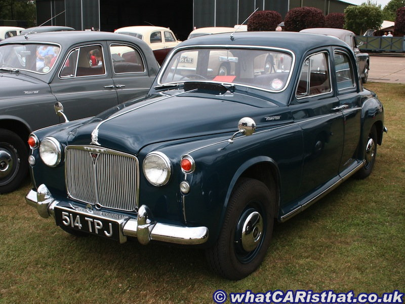 Rover P4 ?? (Year ??, 100 Bonnet and 75 Grille)