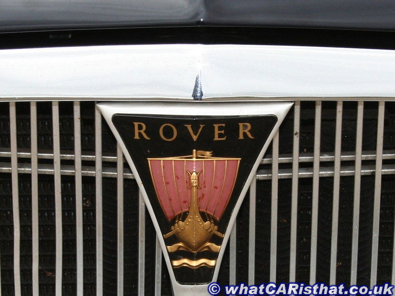 Rover P5 Grille Badge