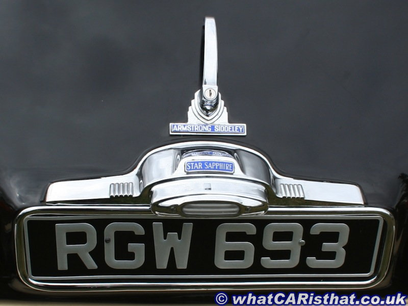 1960 Armstrong Siddeley Star Sapphire
