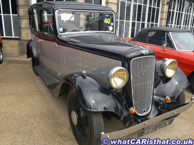 1935 Austin 12/4 Light Ascot Saloon
