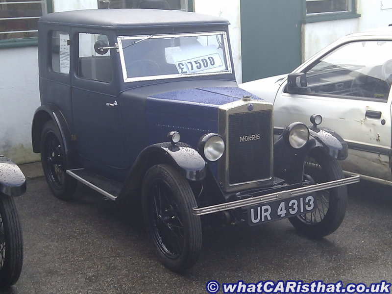 1929 Morris Minor OHC Fabric Saloon