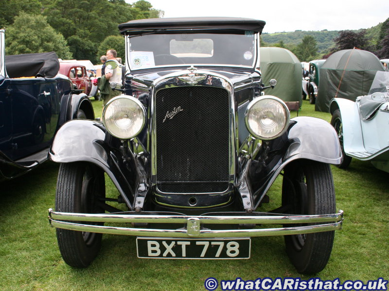 1935 Austin Lt 12/4 Eton Six Two