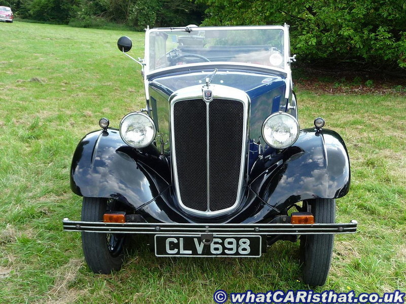 Morris Eight Series I Tourer
