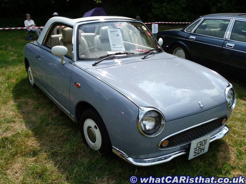 1991 Nissan Figaro (Lapis Grey: Winter)
