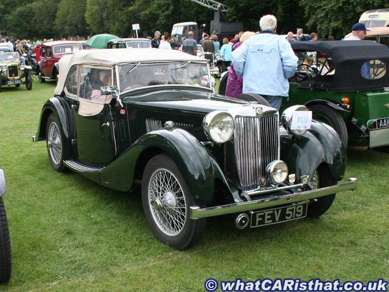 1937 MG VA-Type Tourer
