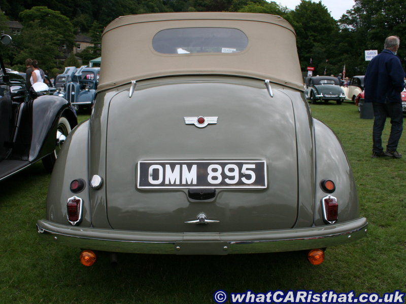 1950 Morris Minor MM Tourer