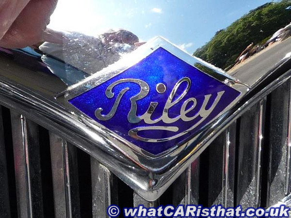 1950s RM Series Grille Badge