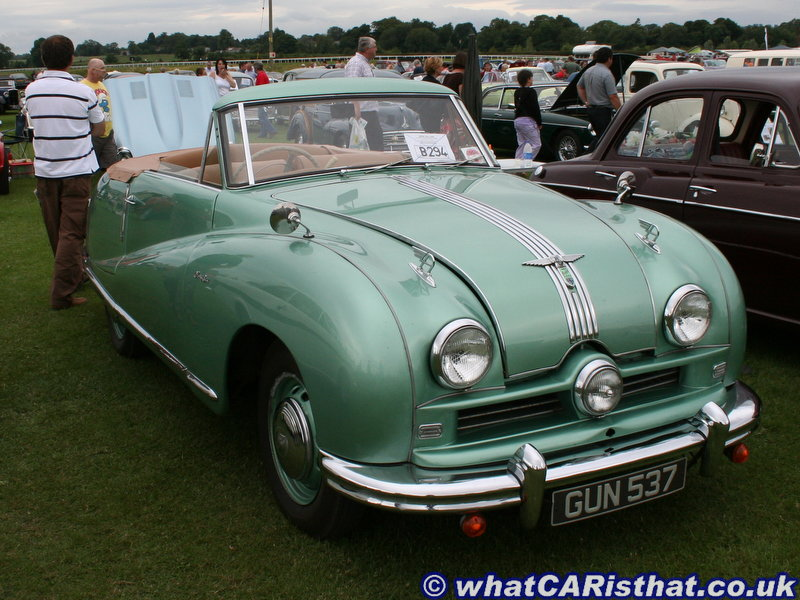 Austin A90 Atlantic Convertible [GUN 537] 1950
